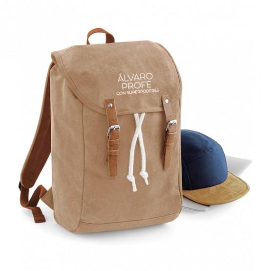 mochila personalizada profe