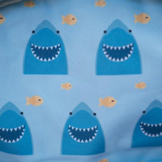 Detalle tela tiburón