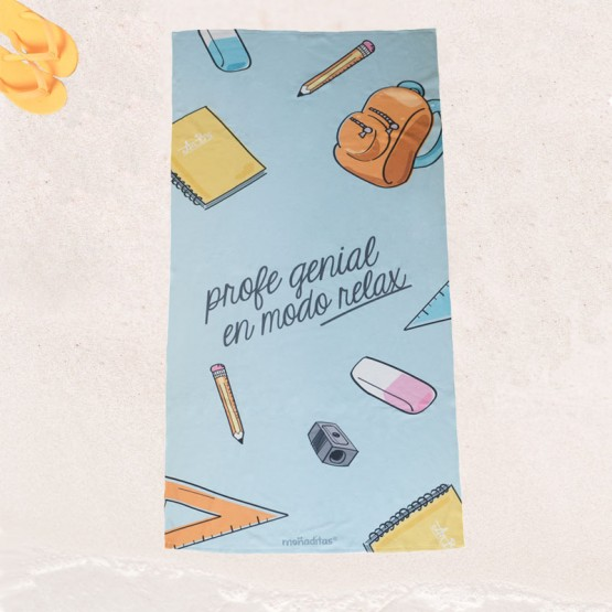 toalla regalos profesoras infantil