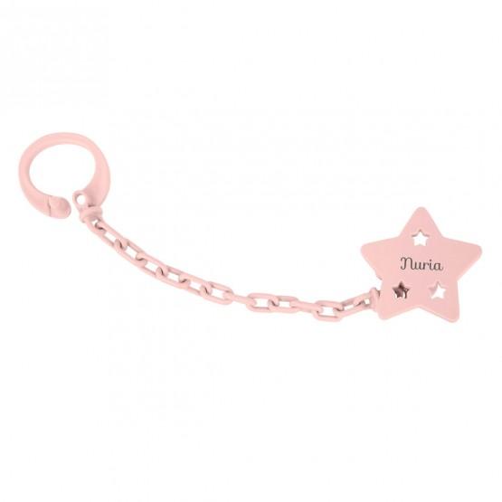 sujetachupete estrella retro rosa
