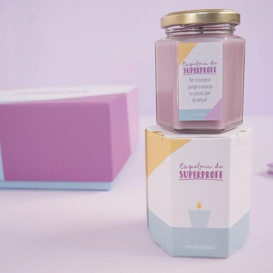 vela de violetas