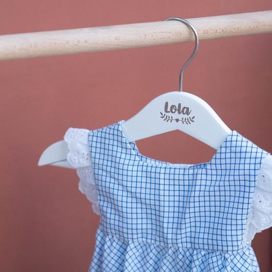 Perchas bebé personalizadas