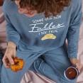 Pijama con peineta