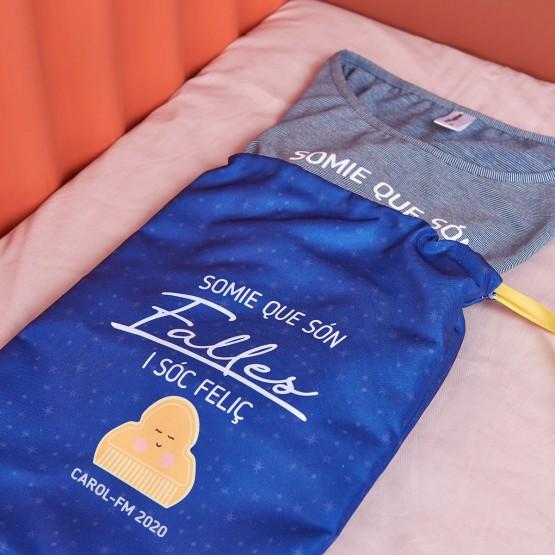 Bolsa pijama fallero