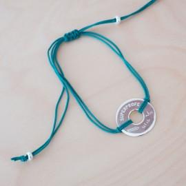 pulsera plata para profesora