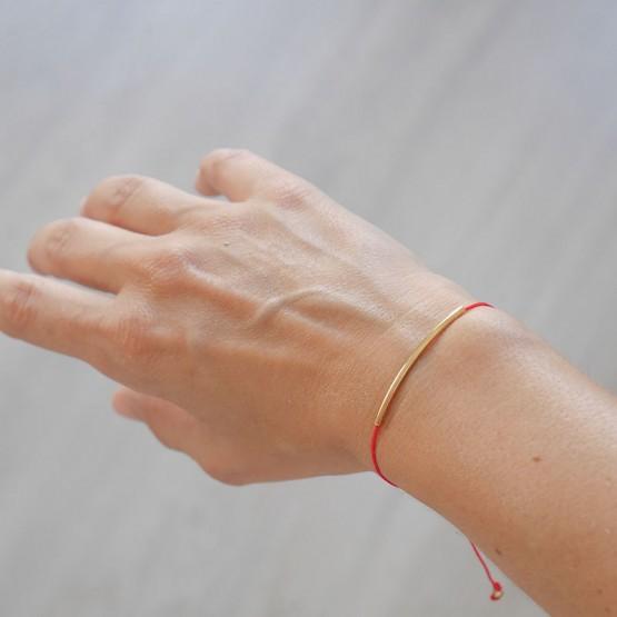 pulsera hilo rojo