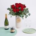 kit san valentin flores y chocolate