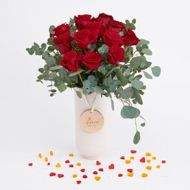 Ramo Valentina (docena rosas rojas)