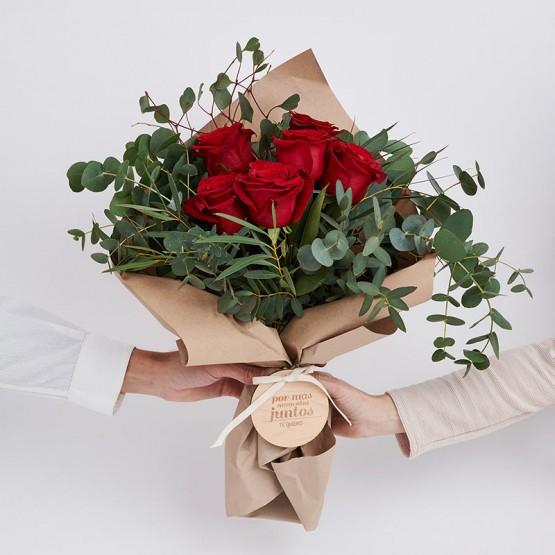 regalar rosas san valentín