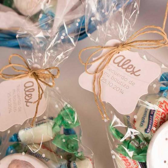 caramelos personalizados bautizo