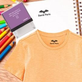sello personalizado ropa batman