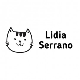 Sello personalizado gato