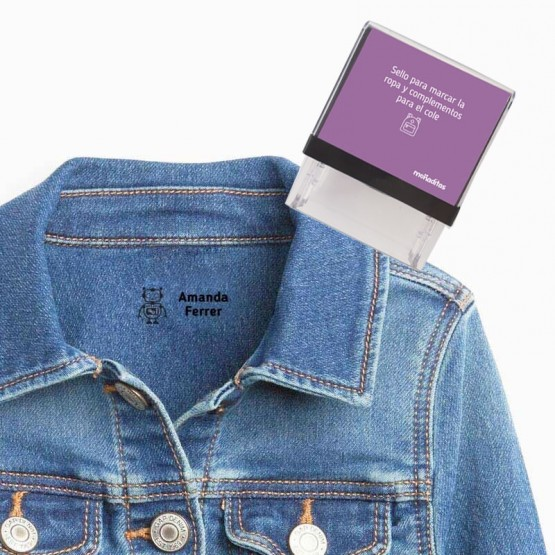 sello para marcar ropa robot