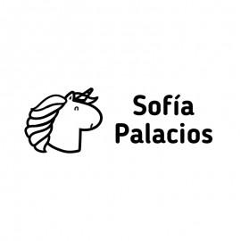 sello ropa unicornio