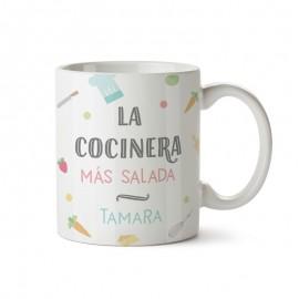 Taza+tarjeta regalo cocinero