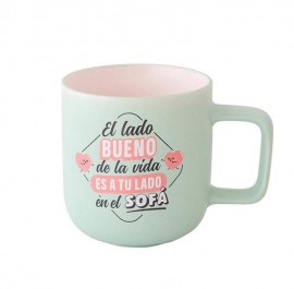 Taza lado bueno de la vida Mr Wonderful