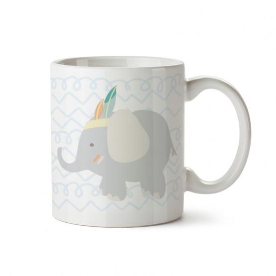 taza infantil animales elefante