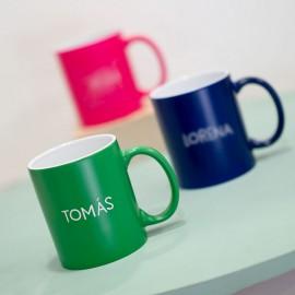 Tazas personalizadas colores