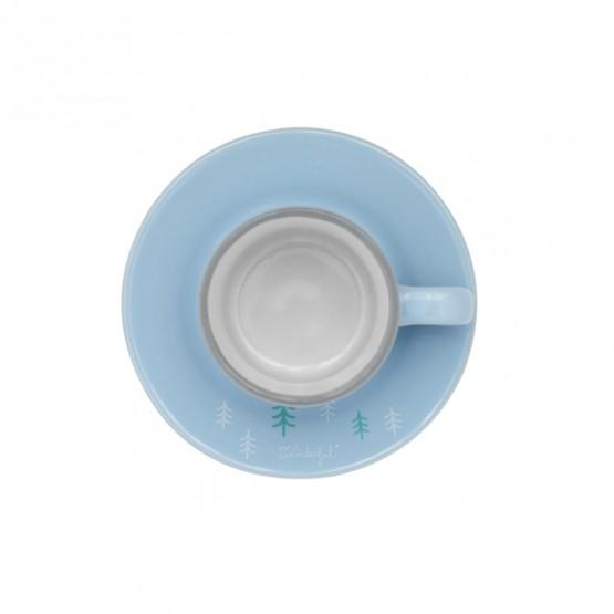 Taza café novios