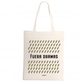 """Tote bag """"fuera dramas"""""""
