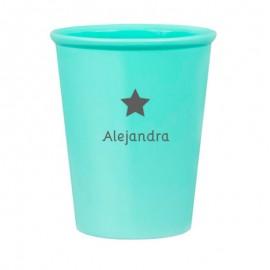 Vaso estrella personalizado