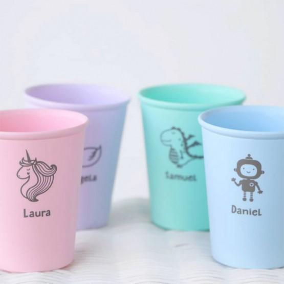 Vaso unicornio personalizado