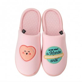 zapatillas ir por casa rosa mr wonderful