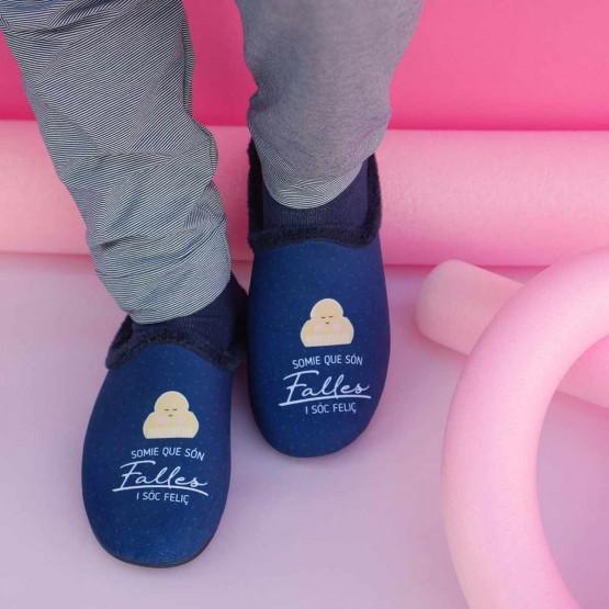 zapatillas falleras ir por casa